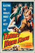 "Movie Posters:Action, Target Hong Kong (Columbia, 1953). One Sheet (27"" X 41""). Action.. ..."