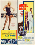 """Movie Posters:Drama, The Blue Angel & Other Lot (20th Century Fox, 1959). Inserts(2) (14"""" X 36""""). Drama.. ... (Total: 2 Items)"""