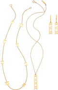 Estate Jewelry:Suites, Gold Jewelry Suite, Tiffany & Co.. ... (Total: 4 Items)