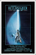 """Movie Posters:Science Fiction, Return of the Jedi (20th Century Fox, 1983). Flat Folded One Sheet(27"""" X 41"""") Style A Flat Folded. Science Fiction.. ..."""