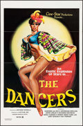 """Movie Posters:Adult, The Dancers (A-B Film, 1981). One Sheet (27"""" X 41"""") & Uncut Pressbook (6 Pages, 10"""" X 15""""). Adult.. ... (Total: 2 Items)"""