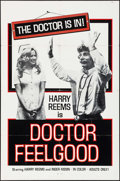 "Movie Posters:Adult, Doctor Feelgood (Mondo Productions, 1974). One Sheet (27"" X 41"") & Photos (4) (8"" X 10""). Adult.. ... (Total: 5 Items)"