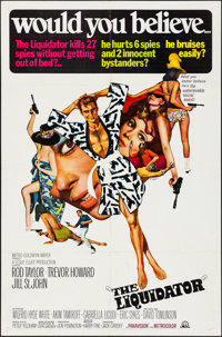 """The Liquidator & Other Lot (MGM, 1965). One Sheets (2) (27"""" X 41""""). Action. ... (Total: 2 Items)"""
