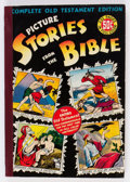 Golden Age (1938-1955):Religious, Picture Stories from the Bible Complete Old Testament Edition (EC, 1943) Condition: FN....