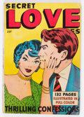 Golden Age (1938-1955):Romance, Fox Giants: Secret Love Stories (Fox Features Syndicate, 1949)Condition: VG....