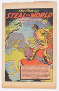 Golden Age (1938-1955):Non-Fiction, The Plot to Steal the World #nn (Work & Unity Group, 1948)Condition: VG....