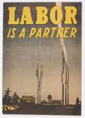 Golden Age (1938-1955):Non-Fiction, Labor Is A Partner #nn (Catechetical Guild, 1949) Condition: VF....