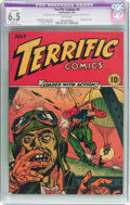 Golden Age (1938-1955):War, Terrific Comics #4 (Continental Magazines, 1944) CGC Apparent FN+ 6.5 Slight (A) White pages....