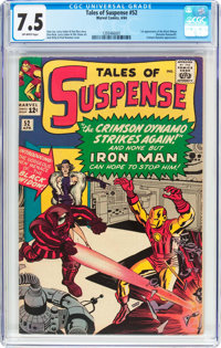 Tales of Suspense #52 (Marvel, 1964) CGC VF- 7.5 Off-white pages