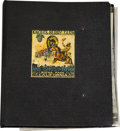 Memorabilia:Miscellaneous, Ghost Town Press Kit Material Binder (c. 1940s-50s)....