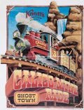 Original Comic Art:Miscellaneous, Calico Mine Ride Poster Proof Copies Group of 4 (1980).... (Total:4 Items)