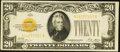 Small Size:Gold Certificates, Fr. 2402 $20 1928 Gold Certificate. Very Fine+.. ...