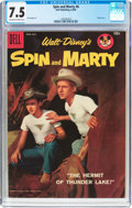 Silver Age (1956-1969):Adventure, Spin and Marty #6 (Dell, 1958) CGC VF- 7.5 Off-white to white pages....