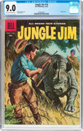 Silver Age (1956-1969):Adventure, Jungle Jim #16 (Dell, 1958) CGC VF/NM 9.0 Off-white to white pages....