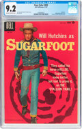 Silver Age (1956-1969):Western, Four Color #992 Sugarfoot (Dell, 1959) CGC NM- 9.2 Off-white towhite pages....