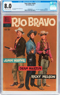 Silver Age (1956-1969):Western, Four Color #1018 Rio Bravo (Dell, 1959) CGC VF 8.0 Off-white towhite pages....