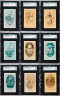 Baseball Cards:Sets, 1922 E120 American Caramel Collection (31 Different). ...