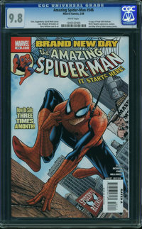 The Amazing Spider-Man #546 (Marvel, 2008) CGC NM/MT 9.8 White pages