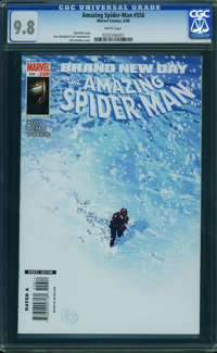 The Amazing Spider-Man #556 (Marvel, 2008) CGC NM/MT 9.8 White pages
