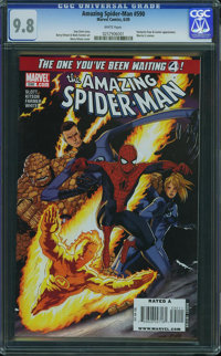 The Amazing Spider-Man #590 (Marvel, 2009) CGC NM/MT 9.8 White pages