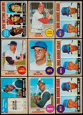Baseball Cards:Sets, 1968 Topps Baseball Near Set (414/598) Plus Extras (244) With 3 Ryan Rookies. ...