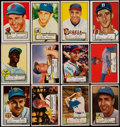 Baseball Cards:Sets, 1952 Topps Baseball Low Numbers Near Set (306/310)....