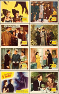 """Movie Posters:Horror, The Catman of Paris (Republic, 1946). Lobby Card Set of 8 (11"""" X 14""""). Horror.. ... (Total: 8 Items)"""