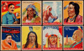 "Non-Sport Cards:Lots, 1933-41 Goudey ""Indian Gum"" Card Collection (32) With Five SkyBirds Cards. ..."