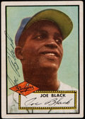 Autographs:Sports Cards, Signed 1952 Topps Joe Black #321 High Number. ...