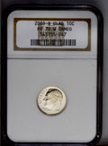 Proof Roosevelt Dimes: , 2001-S 10C Clad PR70 Cameo NGC. (#5292)...