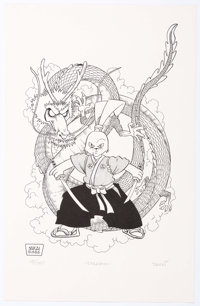 Stan Sakai Usagi Yojimbo Signed Limited Edition Prints Group of 2 (Fantagraphics, 1988).... (Total: 2 Items)