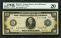 Large Size:Federal Reserve Notes, Fr. 923* $10 1914 Federal Reserve Note PMG Very Fine 20.. ...