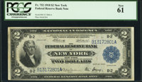 Fr. 752 $2 1918 Federal Reserve Bank Note PCGS New 61