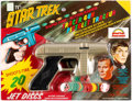 Memorabilia:Science Fiction, Star Trek Jet Discs Tracer Gun (Rayline, 1966)....