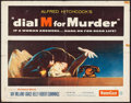 """Movie Posters:Hitchcock, Dial M for Murder (Warner Brothers, 1954). Half Sheet (22"""" X 28"""").Hitchcock.. ..."""