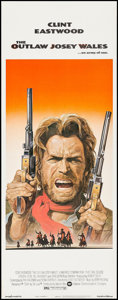 "Movie Posters:Western, The Outlaw Josey Wales (Warner Brothers, 1976). Insert (14"" X 36""). Western.. ..."
