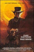 "Movie Posters:Western, Pale Rider (Columbia-EMI-Warner Brothers, 1985). British Bus Stop(40"" X 60""). Western.. ..."