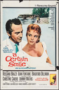 """Movie Posters:Drama, A Certain Smile & Other Lot (20th Century Fox, 1958). One Sheets (2) (27"""" X 41""""). Drama.. ... (Total: 2 Items)"""