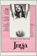 "Movie Posters:Sexploitation, Inga (Cinemation Industries, 1968). One Sheet (27"" X 41"").Sexploitation.. ..."
