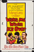 "Movie Posters:Comedy, Wake Me When It's Over & Other Lot (20th Century Fox, 1960).Folded, Fine. One Sheets (4) (27"" X 41""). Comedy.. ... (Total: 4Items)"
