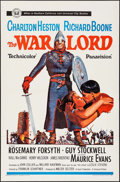 "Movie Posters:War, The War Lord (Universal, 1965). One Sheet (27"" X 41""). War.. ..."