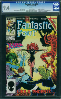 Fantastic Four #286 (Marvel, 1986) CGC NM 9.4 White pages