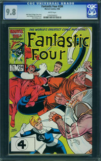 Fantastic Four #294 - WESTPORT COLLECTION VOL 2 (Marvel) CGC NM/MT 9.8 White pages