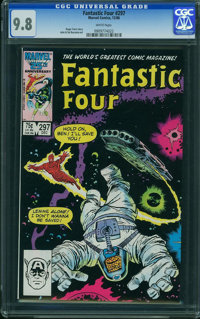 Fantastic Four #297 - WESTPORT COLLECTION VOL 2 (Marvel) CGC NM/MT 9.8 White pages