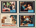 "Movie Posters:Crime, The Breaking Point (Warner Brothers, 1950). Title Lobby Card &Lobby Cards (3) (11"" X 14""). Crime.. ... (Total: 4 Items)"