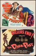 """Movie Posters:Crime, The Dark Past & Other Lot (Columbia, 1949). Title Lobby Cards (2) (11"""" X 14""""). Crime.. ... (Total: 2 Items)"""