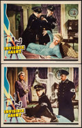 "Movie Posters:War, Invisible Agent (Universal, 1942). Lobby Cards (2) (11"" X 14"").War.. ... (Total: 2 Items)"