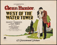 """West of the Water Tower (Paramount, 1923). Title Lobby Card (11"""" X 14""""). Drama"""
