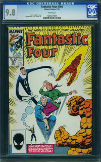 Fantastic Four #304 - WESTPORT COLLECTION VOL 2 (Marvel, 1987) CGC NM/MT 9.8 White pages