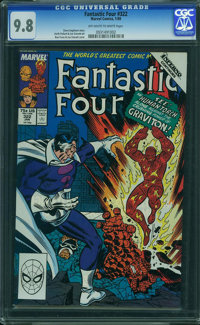 Fantastic Four #322 - WESTPORT COLLECTION VOL 2 (Marvel, 1989) CGC NM/MT 9.8 Off-white to white pages